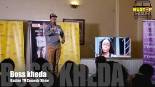 boss kedha at Bustop Tv Comedy show Snippet