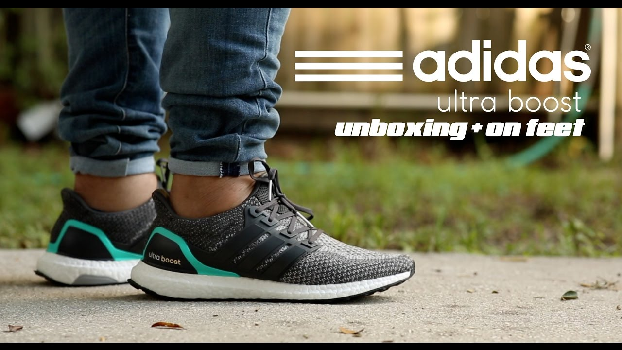 8b17c9eb173 Adidas Ultra Boost 'Grey Shock Mint' Unboxing + On Feet