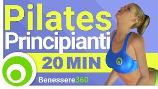20 Minuti di Pilates per Principianti, Esercizi per Avere un Corpo magro e Tonico