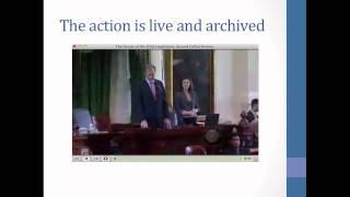 Covering the Legislature: Reporting Words