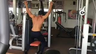 Back workout trial exercises   by roshan lal   shiva health club chadwal