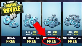 HOW TO EARN V-BUCKS FOR FREE FORTNITE, NO GLITCH/HACK SINGLE FUNCTIONAL MODE