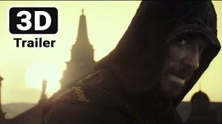 Кредо убийцы / Assassin's Creed (Русский трейлер в 3D) 2017
