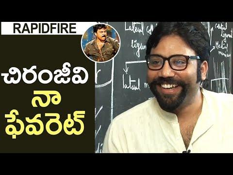 Chiranjeevi Is My Favourite Hero Says Director Sandeep Reddy Vanga | Rapidfire | TFPC