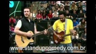 Marcelo Marrom e Fabiano Cambota cantam no Altas Horas