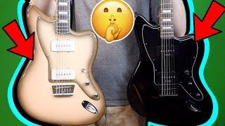 This Squier is a SECRET Weapon! | Fender Squier Baritone Jazzmaster Antigua + Black | Review + Demo