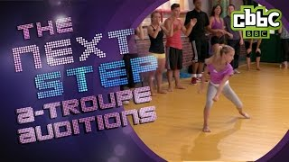 The Next Step Season 2 - A-Troupe Auditions - CBBC