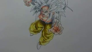 Como dibujar a Gokú ssj5|Miércoles Anime| How to draw Gokú ssj 5