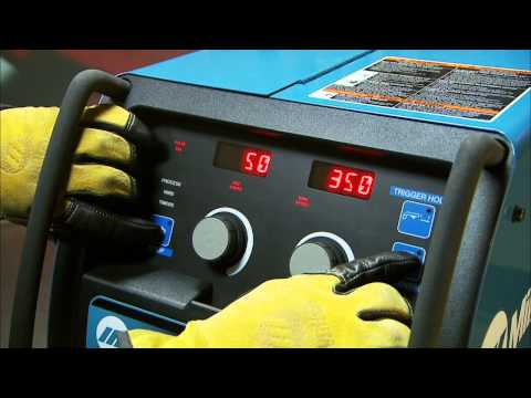 How to Set Up the Millermatic 350P Aluminum MIG Welder