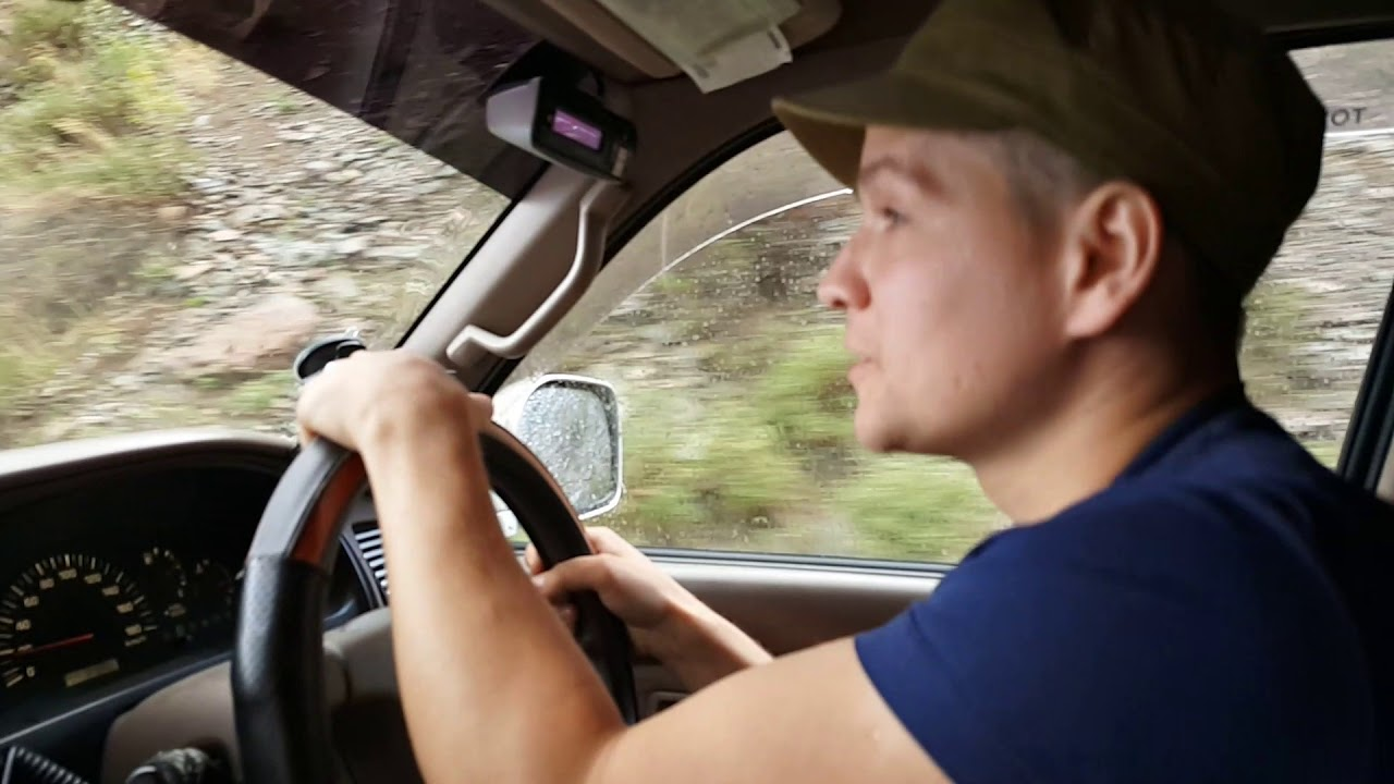 Подъём на перевал Кату-Ярык(июль 2017) - YouTube