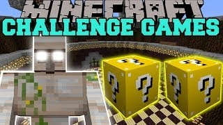 Minecraft: MUTANT IRON GOLEM CHALLENGE GAMES - Lucky Block Mod - Modded Mini-Game