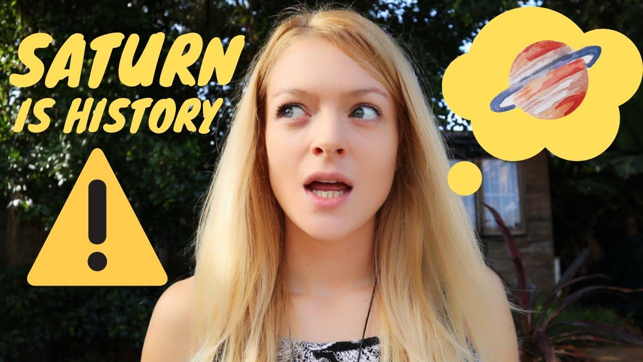 Saturn is History