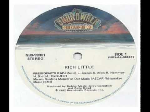 Rich Little - President's Rap 1982