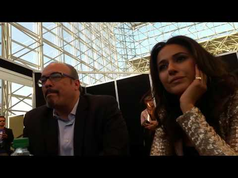 David Zayas and Emmanuelle Chriqui for Hulu's Shut Eye