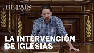 DEBATE DE INVESTIDURA: La intervención de IGLESIAS en 10 minutos