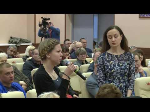 Дебаты И.К. Родниной в Химках