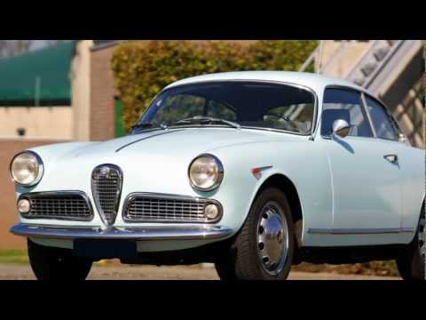 1964 Alfa Romeo Giulietta 1300 Sprint - HD photo video with stereo engine sounds