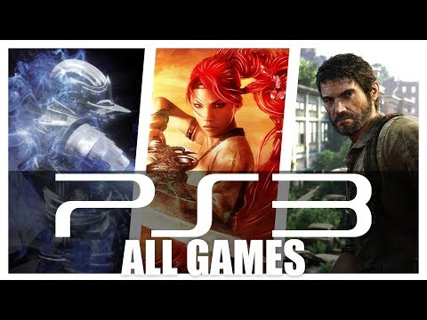All PS3 - Playstation 3 Games In One Video