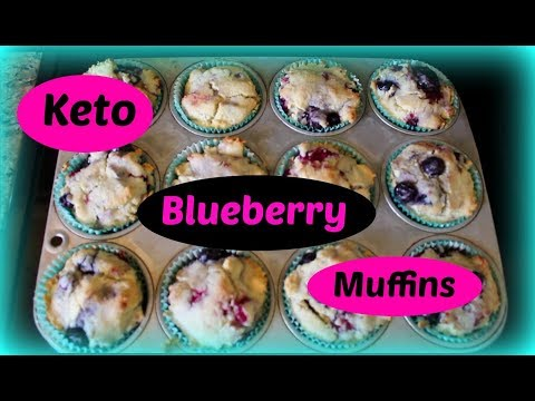 Keto Blueberry Muffins (Super easy to make)