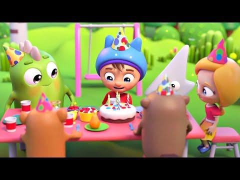 Мультики и песенки для малышей. Сина и Ло - С Днем Рождения! Мультфильмы для детей