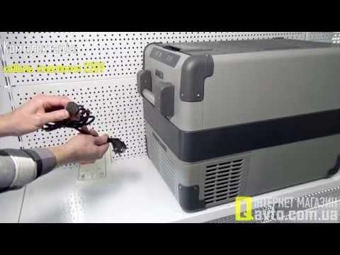 видео: waeco coolfreeze cfx-40 Компрессорный автохолодильник (38 л)