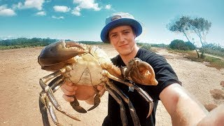 EP 5 - MUDCRAB MADNESS - Barehanded vs Crab Pot (Seafood Sauce Recipe) | Catch n Fry