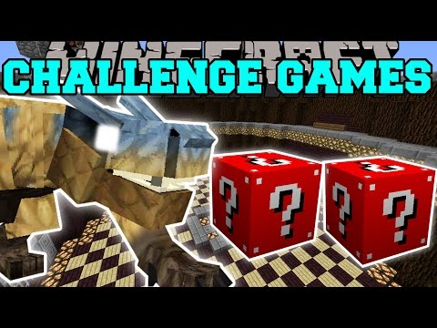Minecraft: TIGREX CHALLENGE GAMES - Lucky Block Mod - Modded Mini-Game