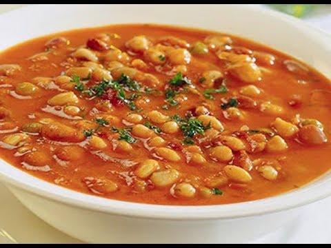 Как готовится фасолевый суп