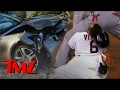 Carlos Santana Totaled his Fisker! | TMZ