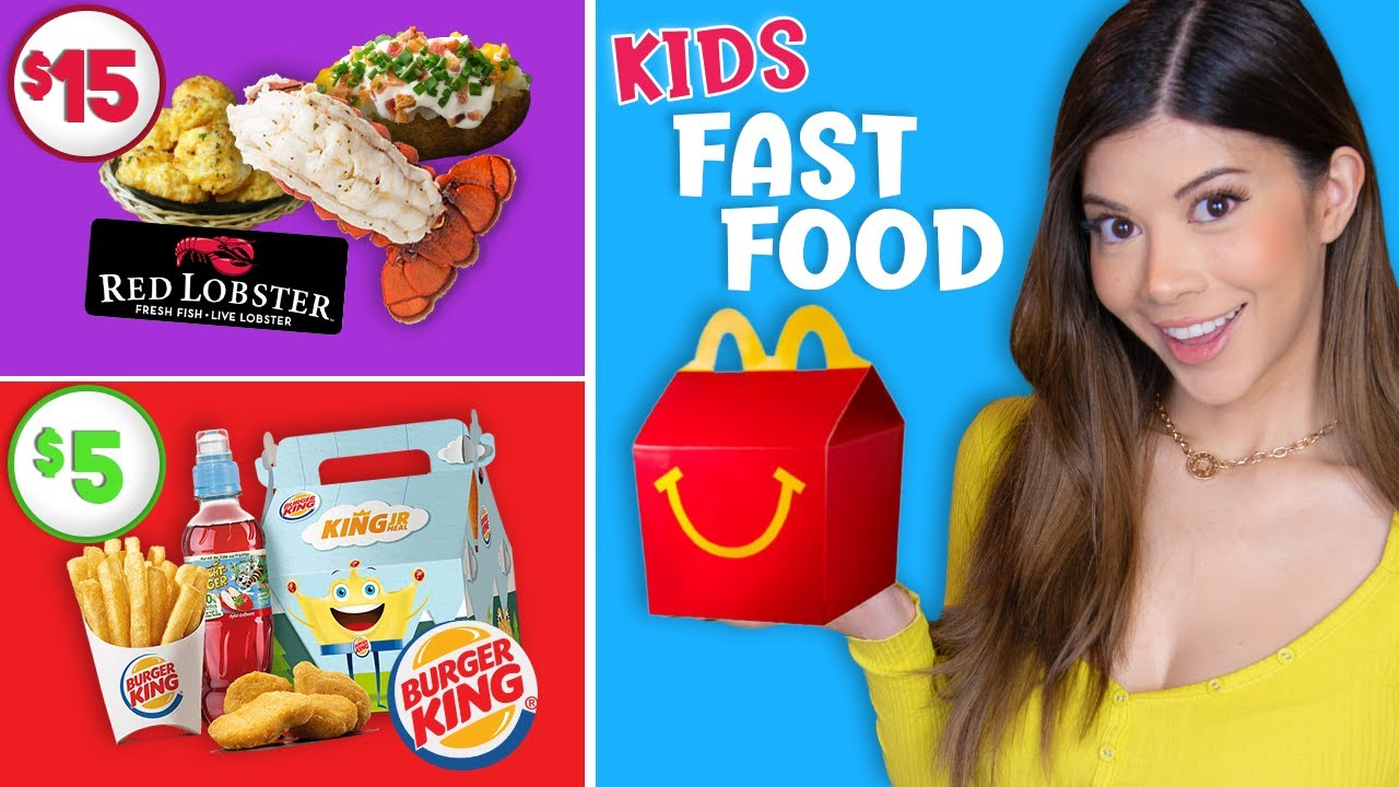 Download Tasting Fast Food for Kids so you don't have to
