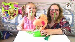 POPEL-ALARM mit Gooey Louie - Kinderspiel um eklige grüne Popel !