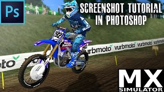 Mx Simulator | Screenshot Editing with Photoshop - Tutorial