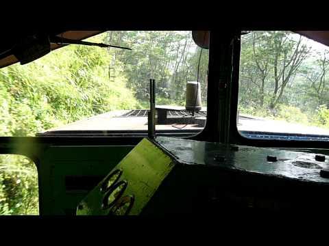 Sri Lanka Train -  Ride With The Engineer