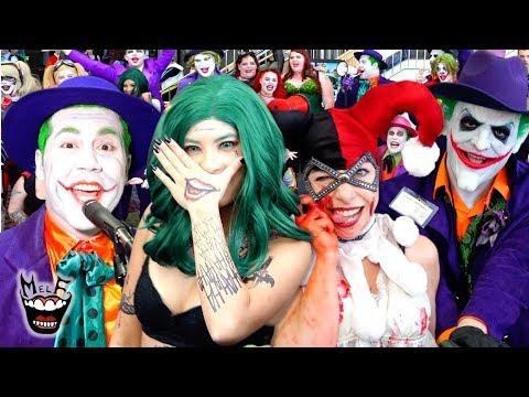 HARLEY QUINN & JOKER MegaCon Havoc!! Epic BATMAN Villains Invade COMIC CON!!