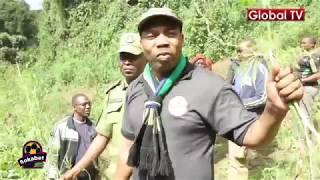 MWIGULU NA POLISI WAVAMIA MASHAMBA YA BANGI ARUSHA