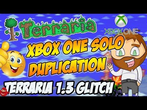 Terraria 1.3 Xbox One Solo Duplication Glitch (Terraria 1.3 Console Glitches)