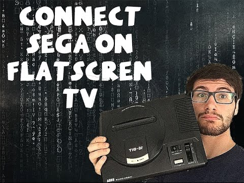 How to set up Sega Genesis/Megadrive on flatscreen TV thumbnail