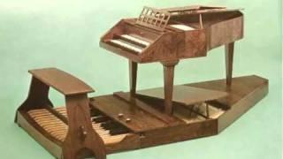 J.S. Bach - Trio Sonata in Eb Major - BWV 525 - 1/3 - Pedal Harpsichord