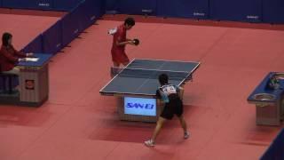 H21全日本卓球選手権男子シングルス準決勝