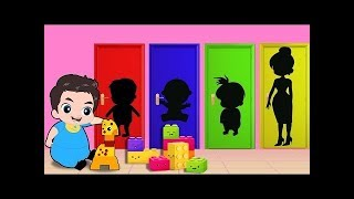 Baby Building Blocks Toys Funny Story! Popular Kids Songs  and Color Learns