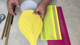 How to assemble Starburst Giant Paper Flower using Petal 89