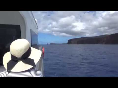 Ferry from Maui to Lanai, Hawaii