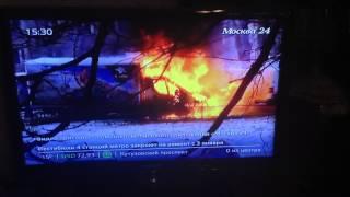 Умудрился заснять как горит целая ПАРКОВКА машин в Люберцах(В 12.37, 1 января 2015 года, в Люберцах на улице Попова дом 40 загорелась машина, от неё сгорели ещё 3 Машины., 2016-01-01T12:51:27.000Z)