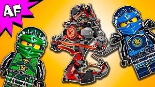 Lego Ninjago Dawn of IRON DOOM 70626 Stop Motion Build Review