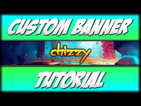 How to make a  youtube banner in Paint.net!!!! Channel Art Tutorial (2017)