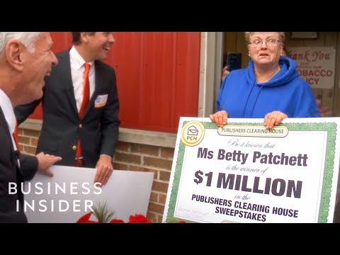 How Publishers Clearing House Makes $1 Billion A Year - YouTube