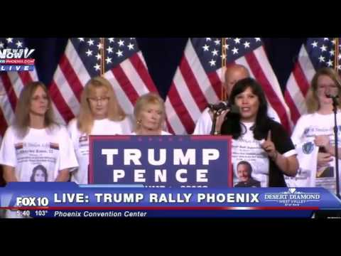 Donald Trump FULL Immigration SPEECH after Mexico visit Phoenix Convention Center LIVE 8/31/16