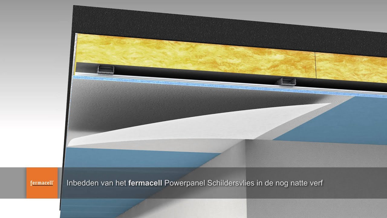 Fermacell Powerpanel H2O monteren op plafond buiten - YouTube