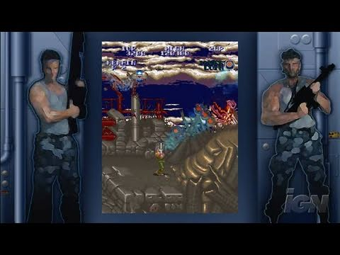 Super Contra Xbox Live Gameplay - Enhanced Graphics (HD)