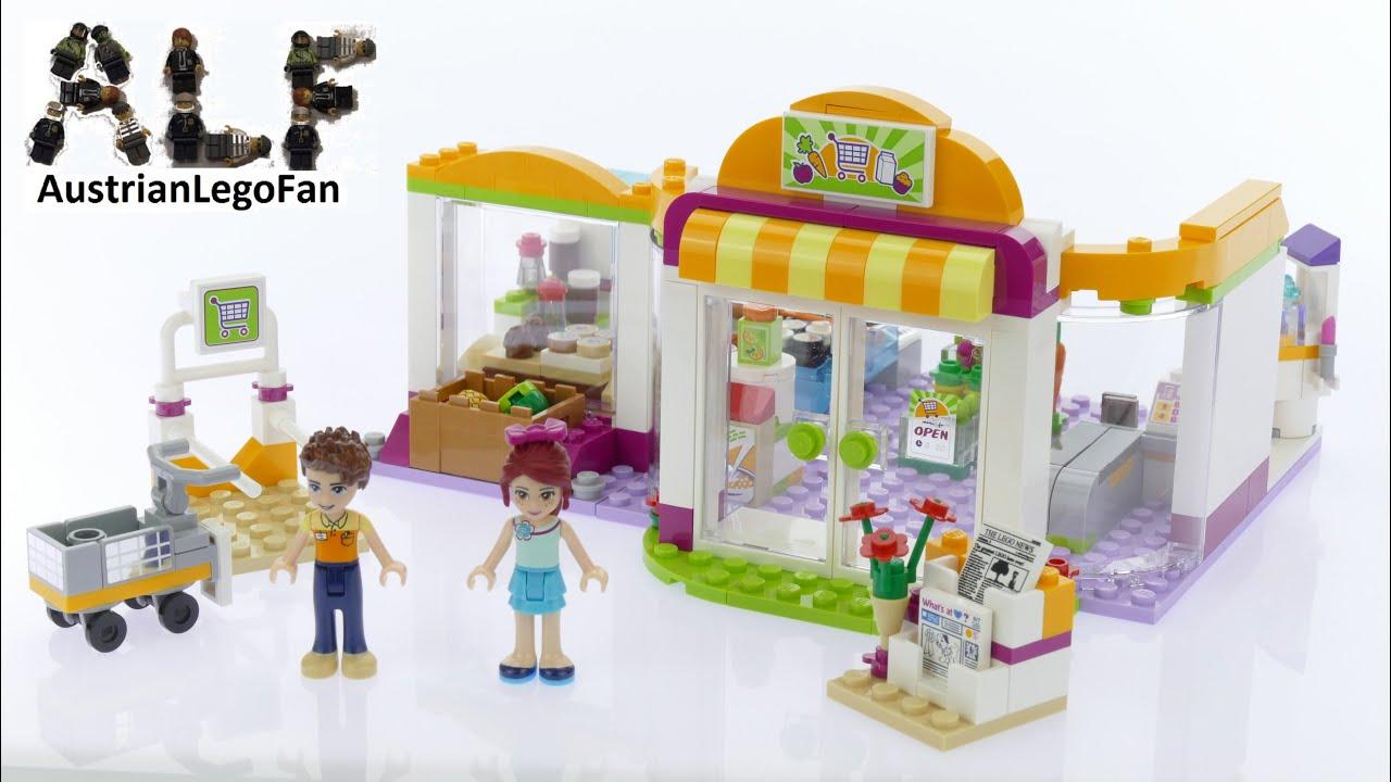 Лего Френдс Супермаркет - YouTube